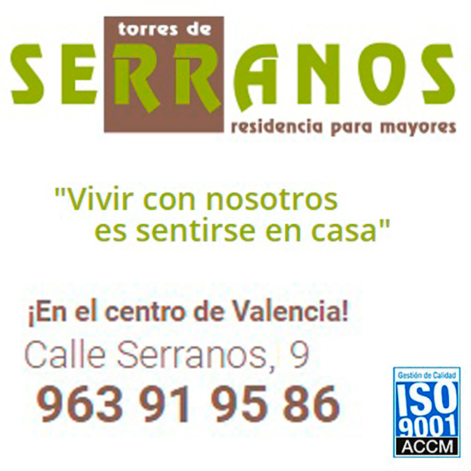 Residencia para mayores y tercera edad Torres de Serranos Valencia Logo