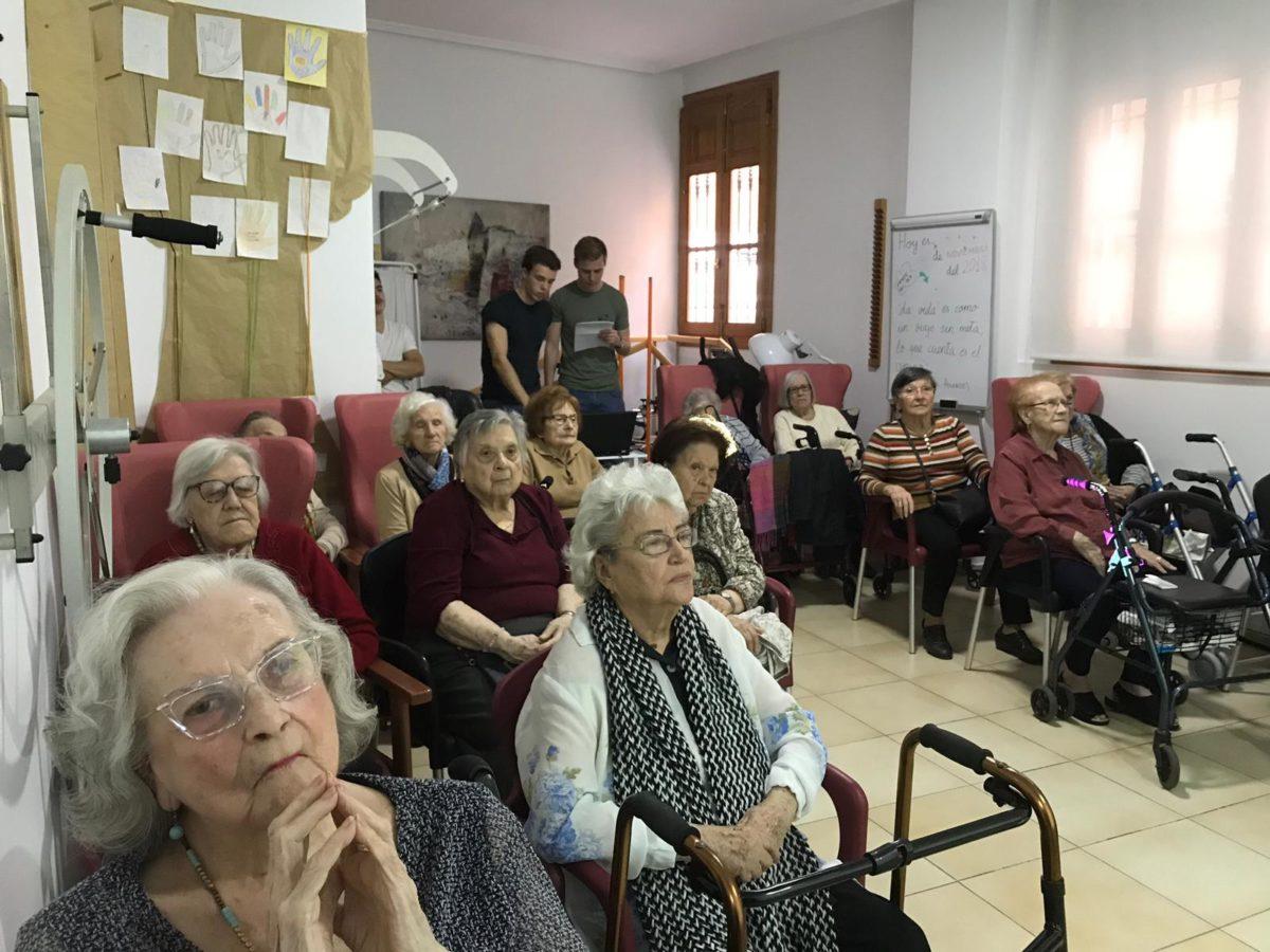 charlas alzheimer parkinson osteoporosis artrosis residencia mayores torres serranos valencia