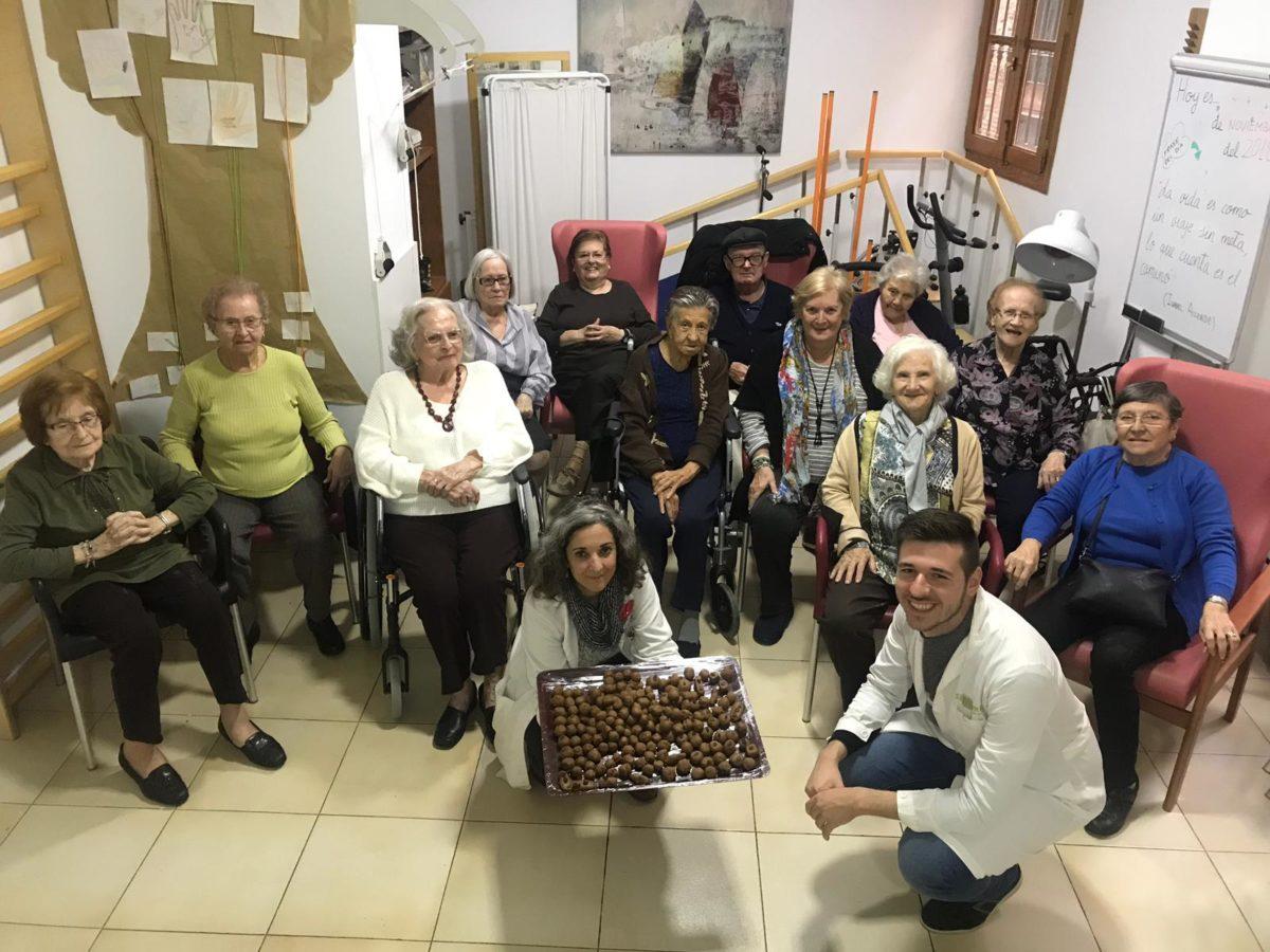 bolitas de gofio en Residencia Ancianos Torres de Serranos